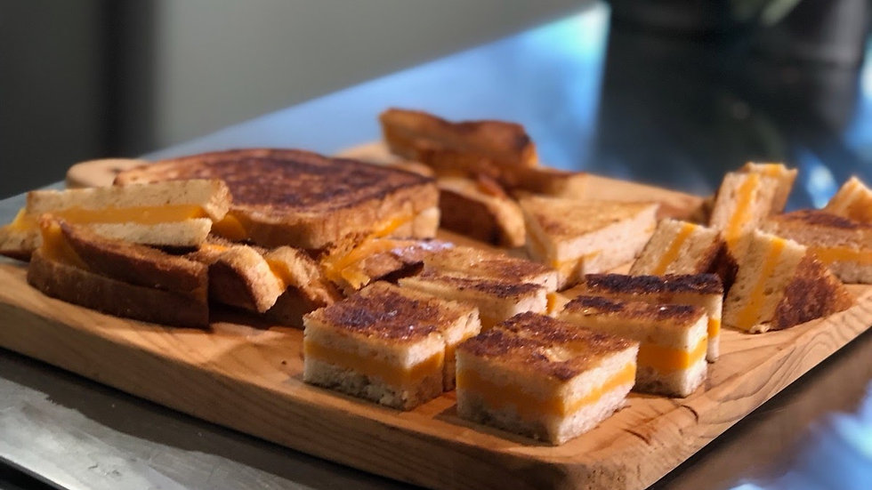 Grilled Cheese Squares!