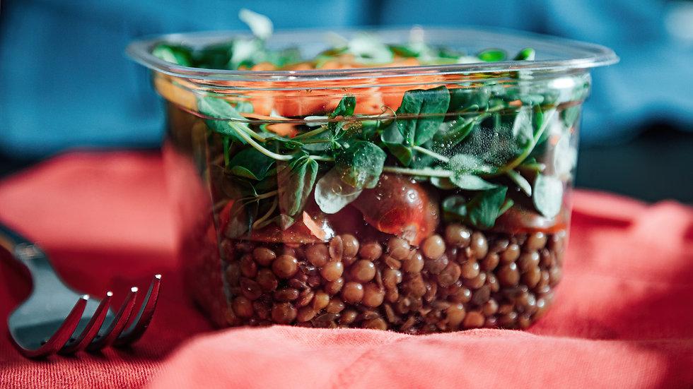 Lentil Veggie Salad