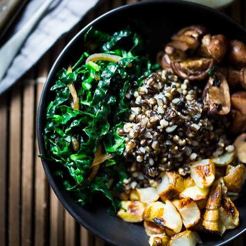 Roasted Sunchoke & Barley Bowl