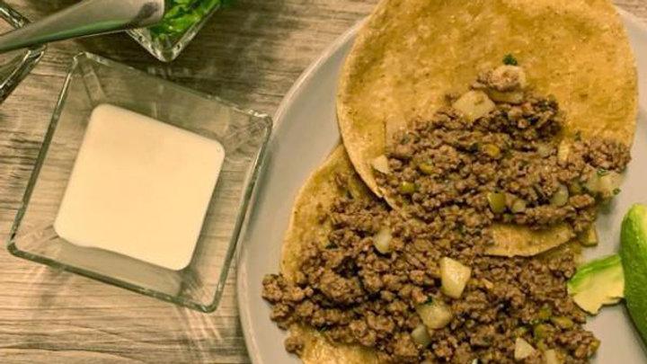 Mexico City Style Carne Molida