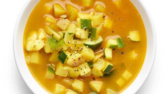 Hearty Zucchini & Potato Soup