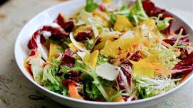 Frisee Salad with Citrus & Beets