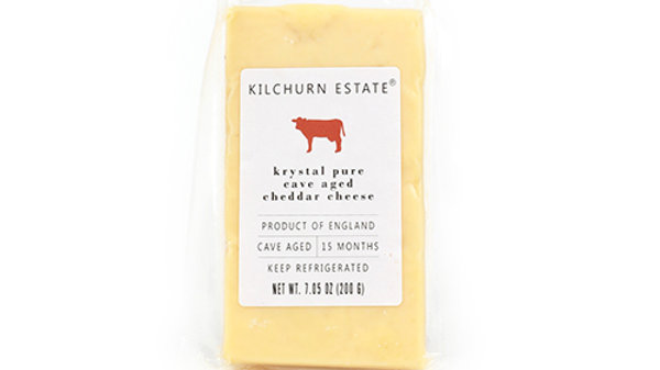 Cave Aged Cheddar Cheese from England