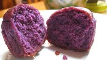Mini Purple Sweet Potato Muffins