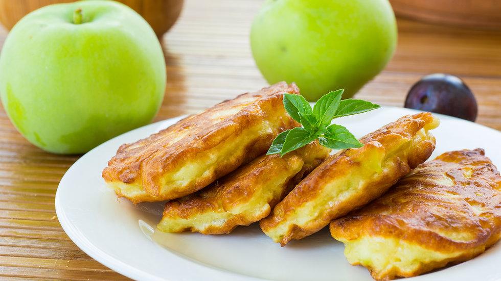 Green Apple & Cinnamon Pancakes