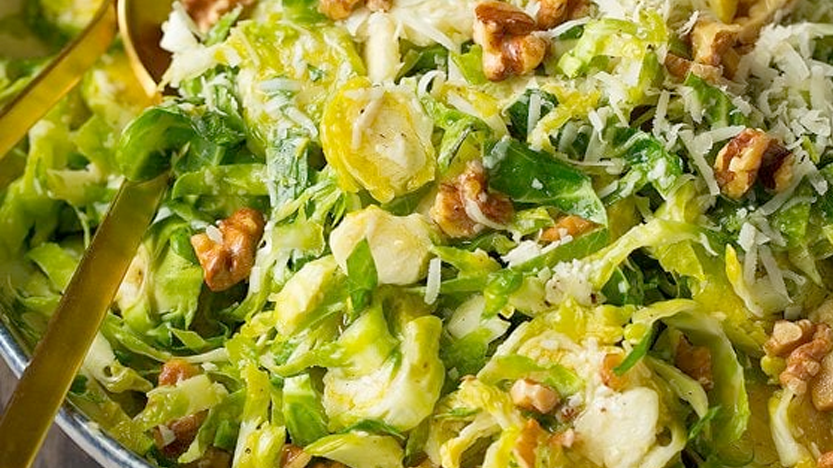 Addicting Brussels Sprout Salad