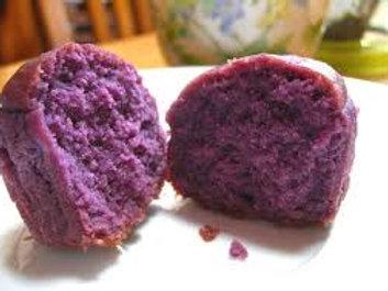 Purple Sweet Potato Mini Muffins