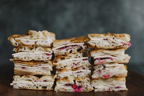 Turkey, Havarti & Cranberry Toasties