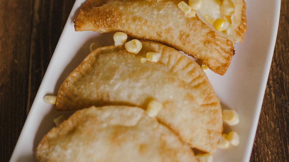 Cheese & Corn Empanadas
