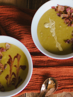 Split Pea Soup with Bacon