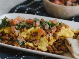 Chorizo and Eggs…with Pico de Gallo