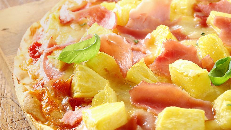 Ham & Pineapple Mini Pizzas