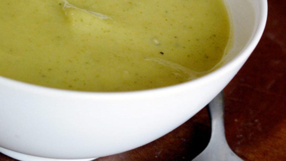 Pureed Zucchini Soup
