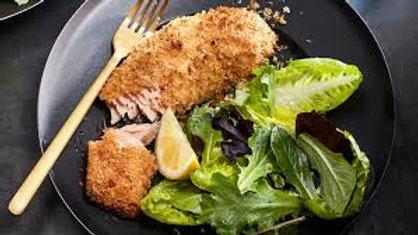 Crunchy Panko Salmon