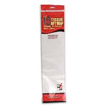 Tissue Paper,15 Sheet White