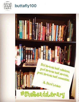 #SheReads Library
