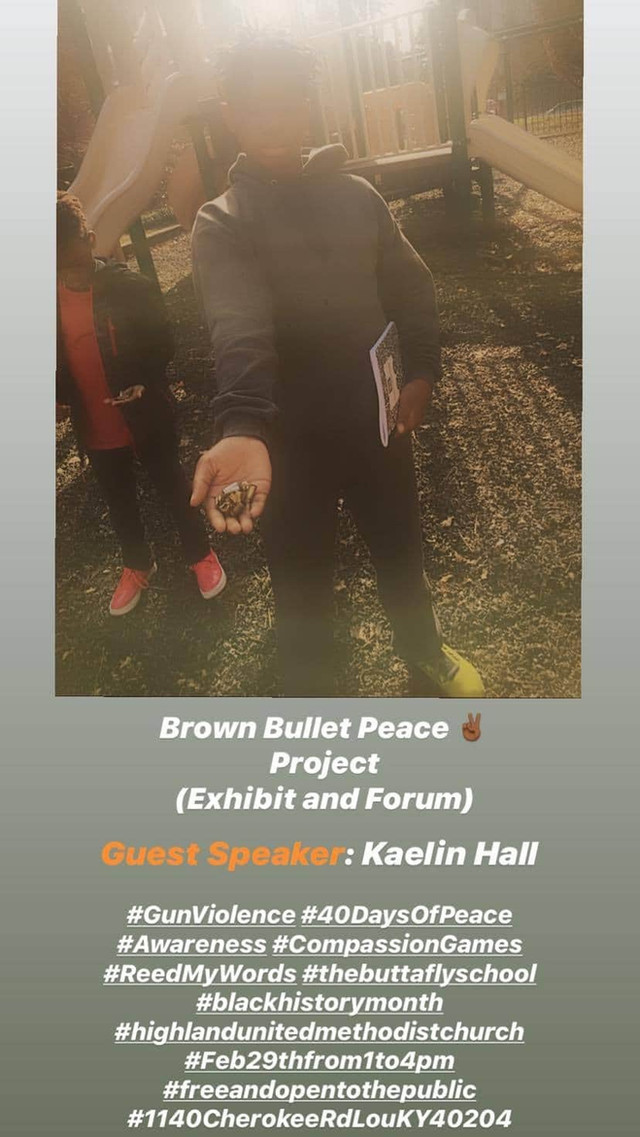 Brown Bullet Peace Project 2020