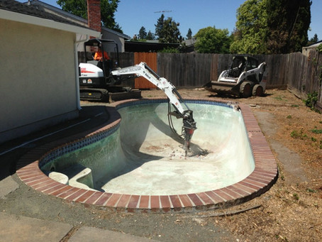 How Much Does it Cost to Remove a Concrete Pool?