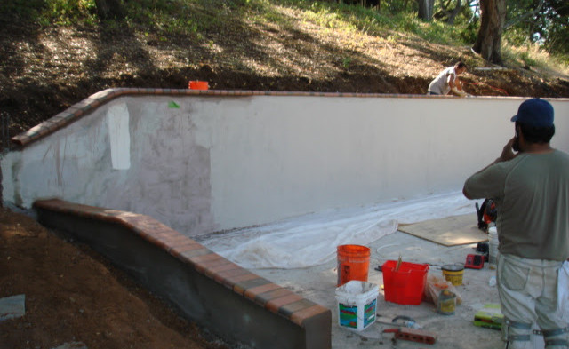 Stucco wall build.JPG