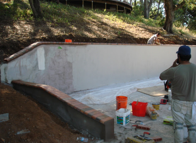 Stucco wall build.JPG