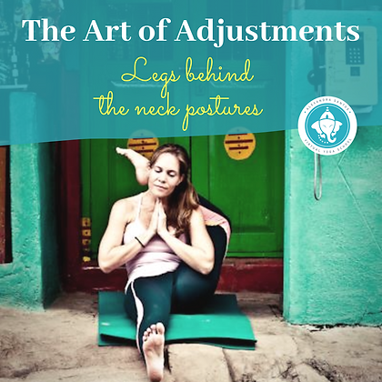 The Art of Adjustments, Legs Behind Neck Postures.