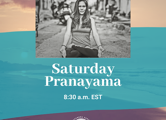 Saturday Pranayama Drop-in Class