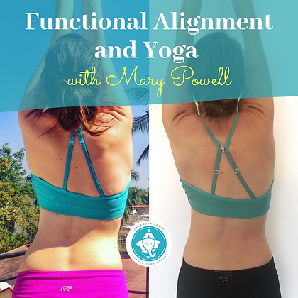 Functional Alignments and Yoga with Mary Powell
