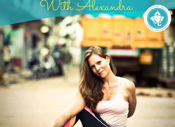 Art of Adjusting Master Class with Alexandra Santos (Virtual)