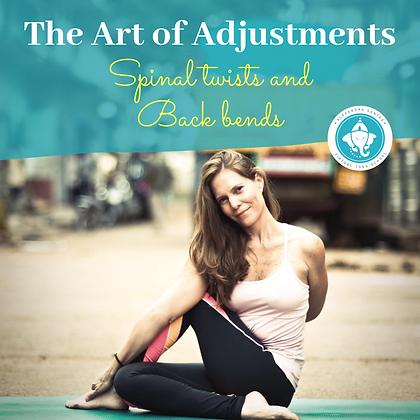 The Art of Adjustments, Twists & Backbends