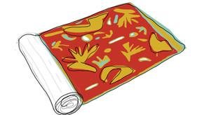 Rol of organic cotton fabric