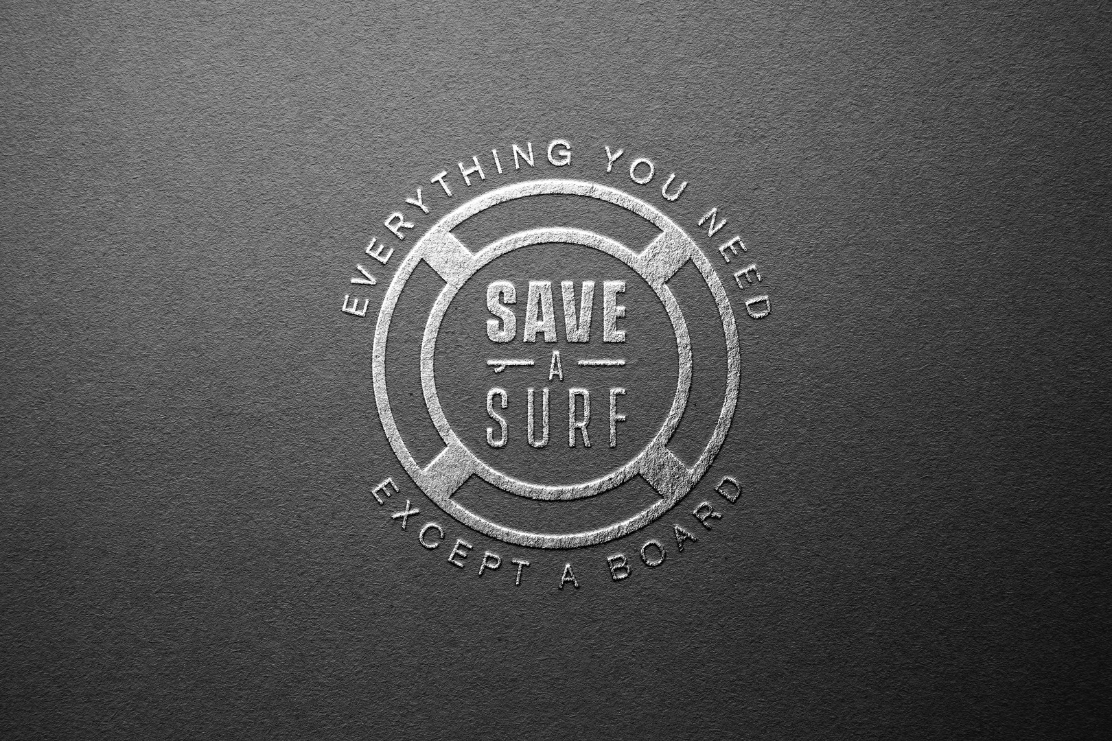 Save a Surf Logo