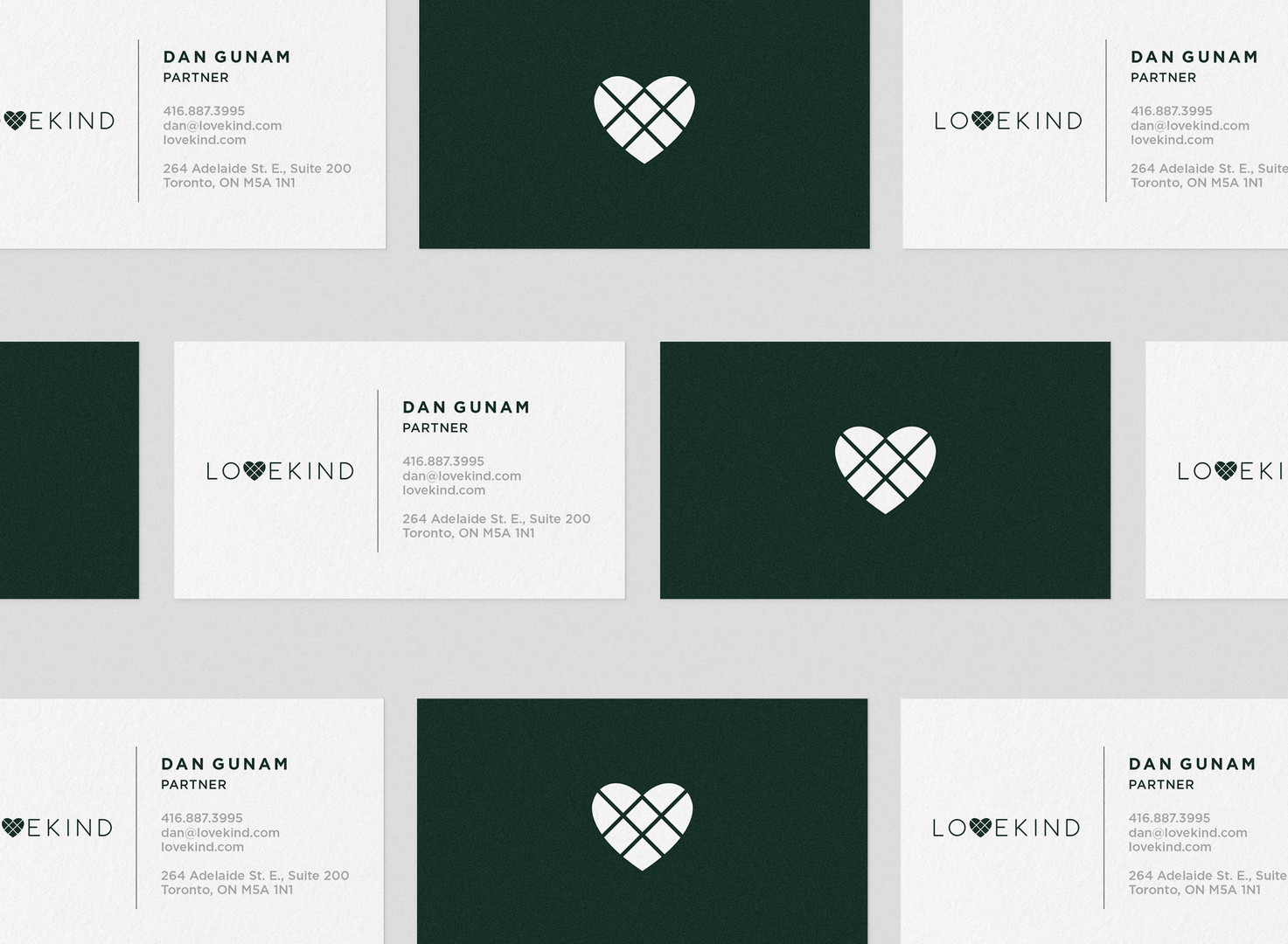 Lovekind Logo & Business card