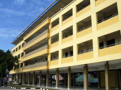 SJK (C) Serdang - Field Facade View
