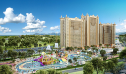 Splash Park Hotel _ Overall View
