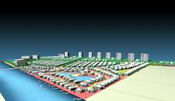 Melaka Reclaimed Land - Overall View