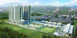 Naza TTDI Equine - Aerial View