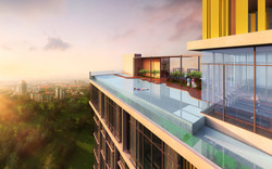 Infinity Tower - Roof Top Pool