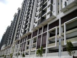 First Residence - Rear Facade