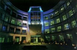 BASF Office - Courtyard Entrance