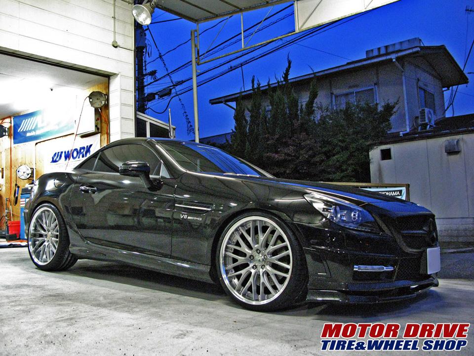M-Benz SLK × WORK GNOSIS GR204