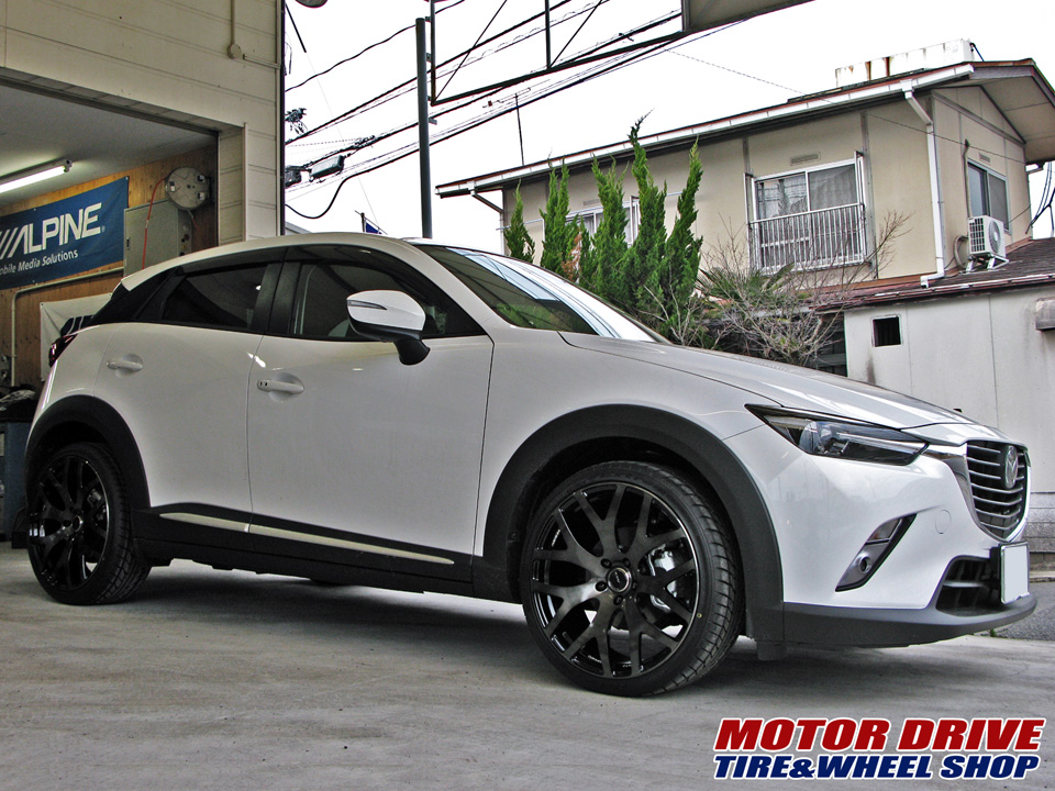 MAZDA CX-3 × RAYS WALTZ FORGED S7