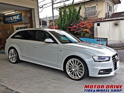 Audi A4 Avant × WORK GNOSIS GR201