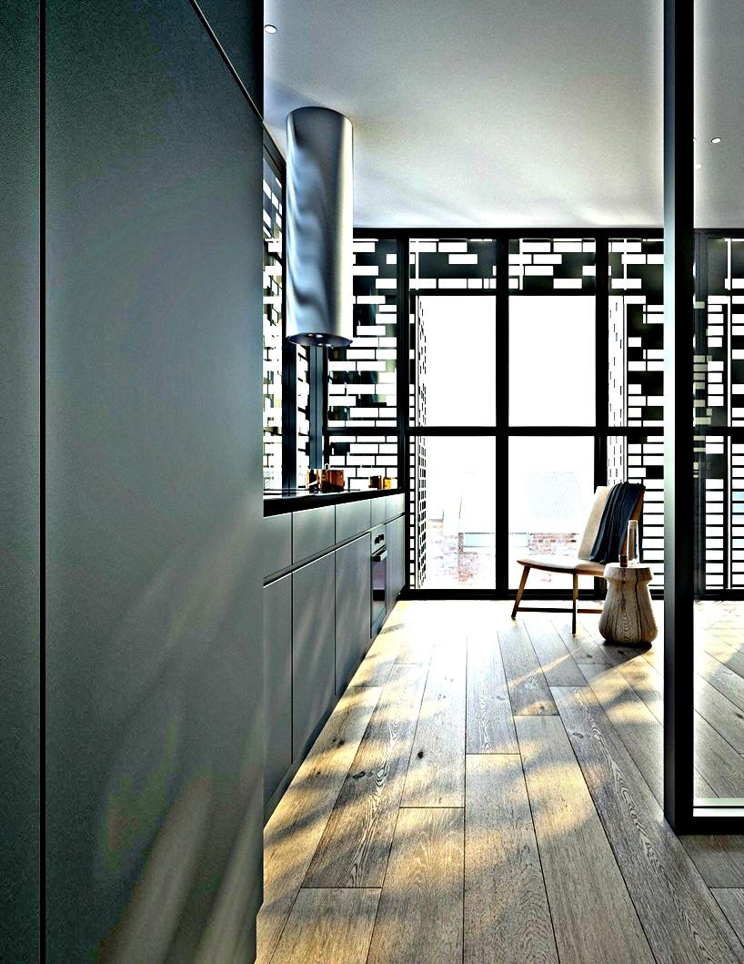 Architecture DKO à Melbourne cuisine latérale