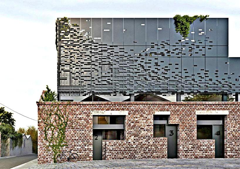 Architecture DKO à Melbourne Façade arrière