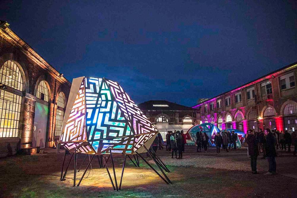 Aoki à biennale design Saint Etienne