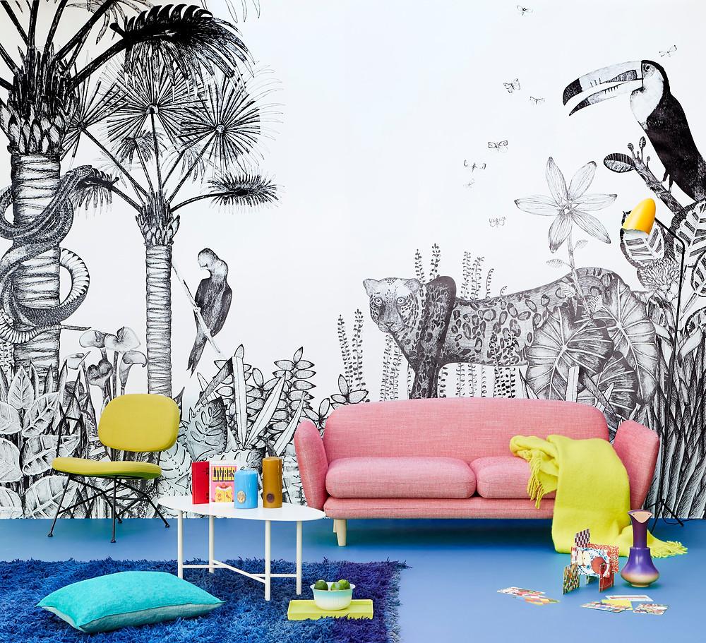 Papiers peints de Cécile Figuette