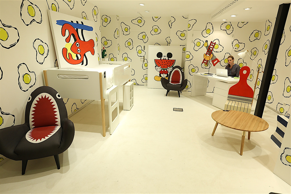Showroom parisien de Made.com