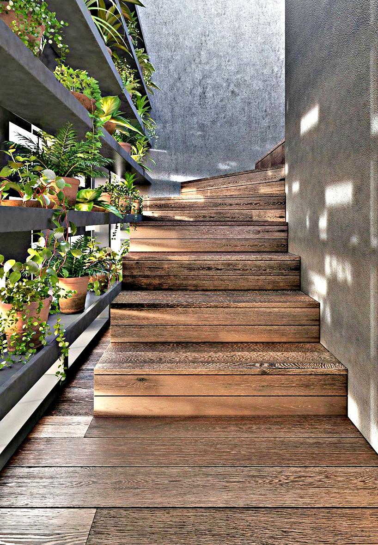 Architecture DKO à Melbourne Escalier