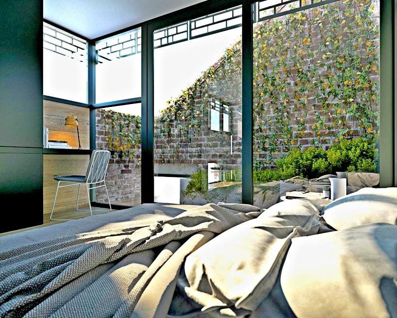 Architecture DKO à Melbourne Chambre