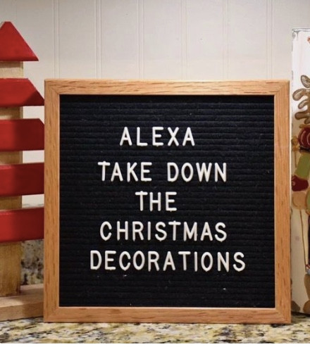 Loving this check out 40 Funny Holiday Letter Boards at LOVINGLYGRAY.com